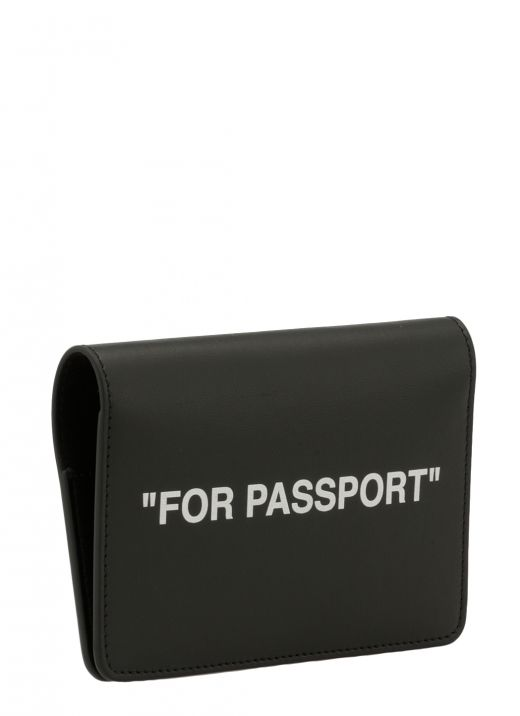 Smooth leather document holder
