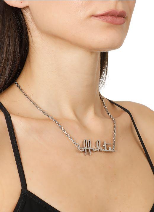 Met Logo Necklace