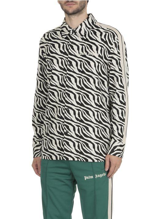 Zebra printed shirt