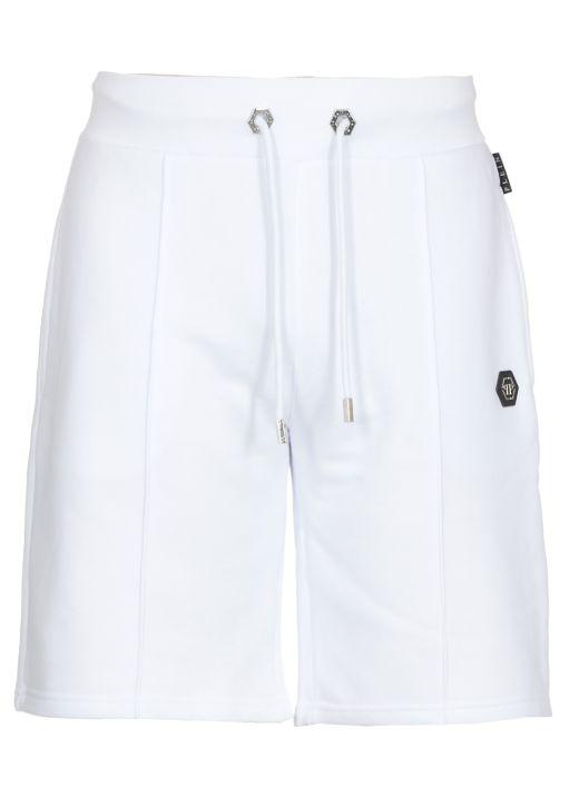 Cotton jogging shorts
