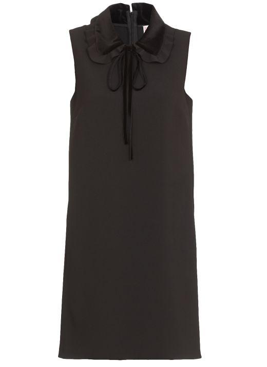 Cady tech and velvet dress
