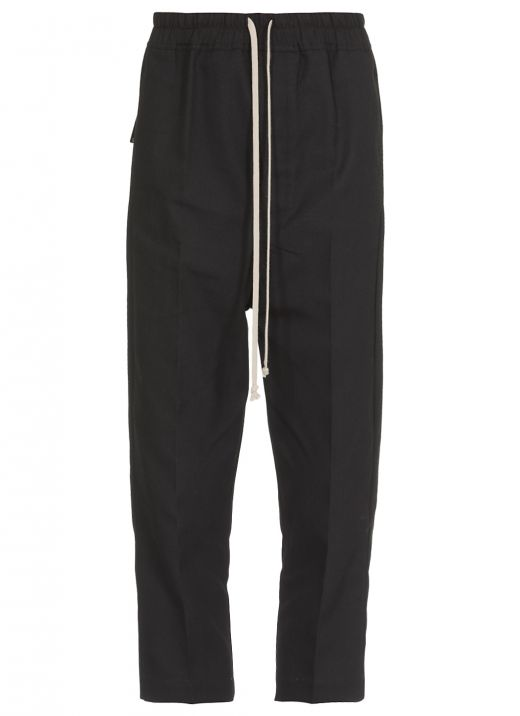 Twill cropped pant