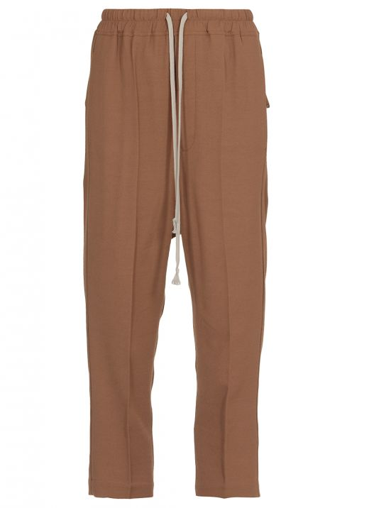 Crepe cropped pant