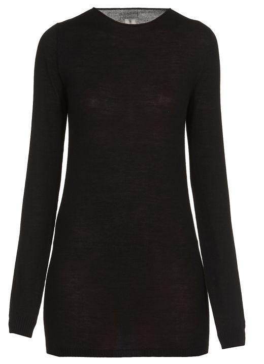 Virgin wool sweater