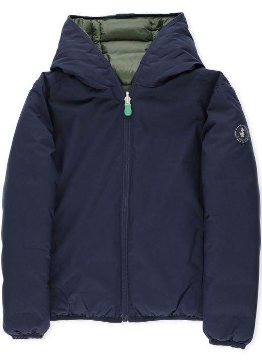 Matt reversible jacket