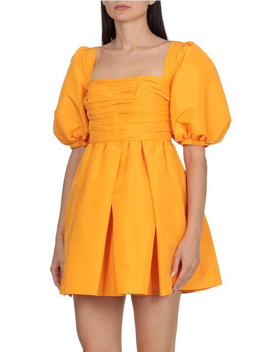 Taffeta mini dress