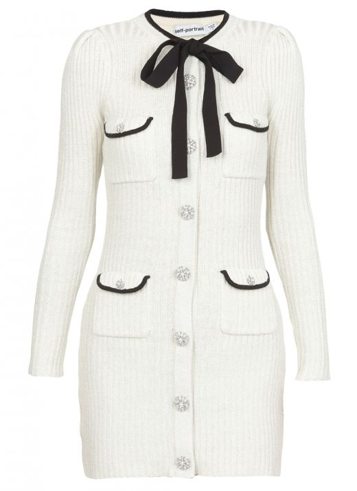 Lurex Knit Dress