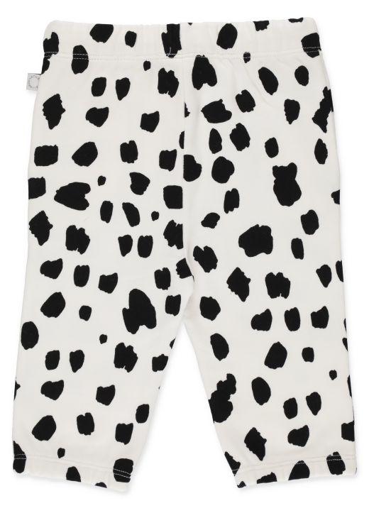 Dalmatian spots joggers
