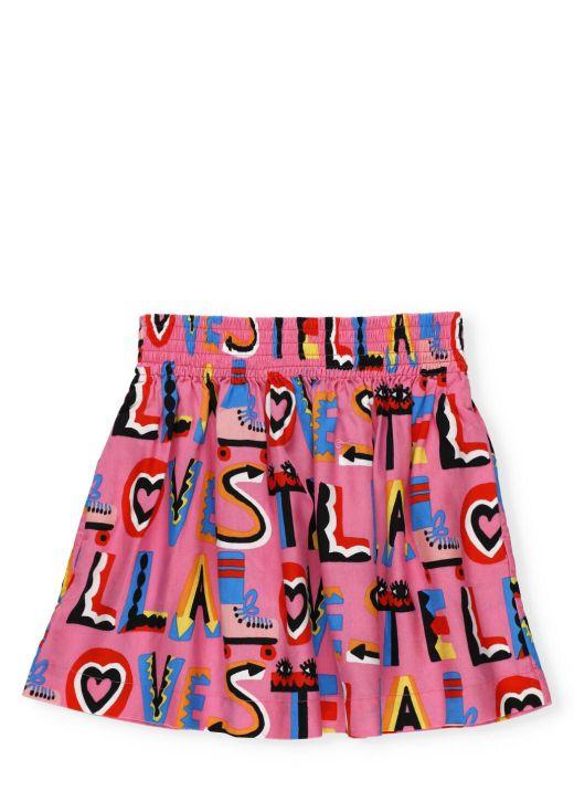 Stella Loves twill skirt
