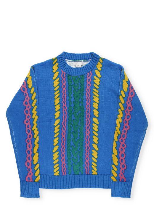 Comic Bubbles Sweater