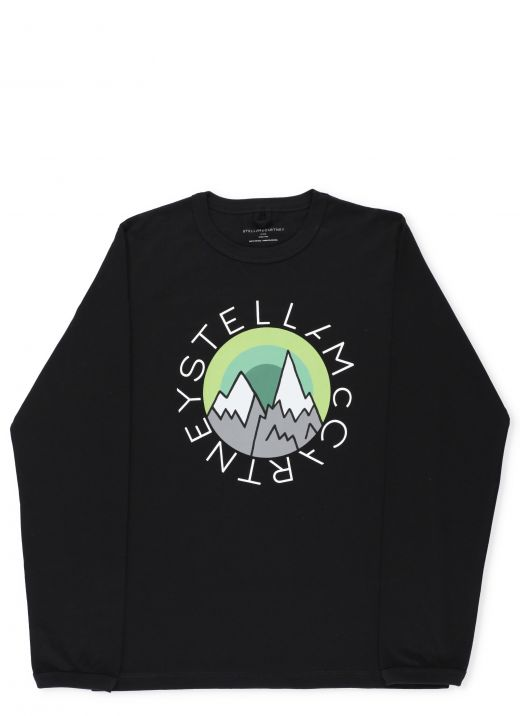 Sweater with graphic print