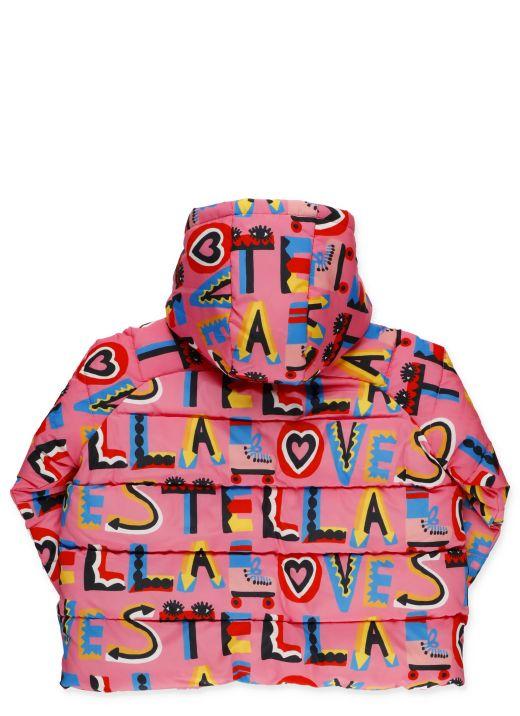 Stella Loves Hooded Down Jacket