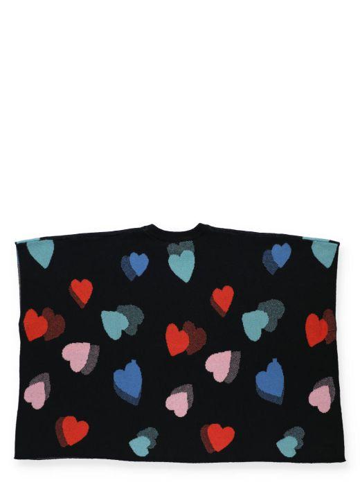 Hearts cape