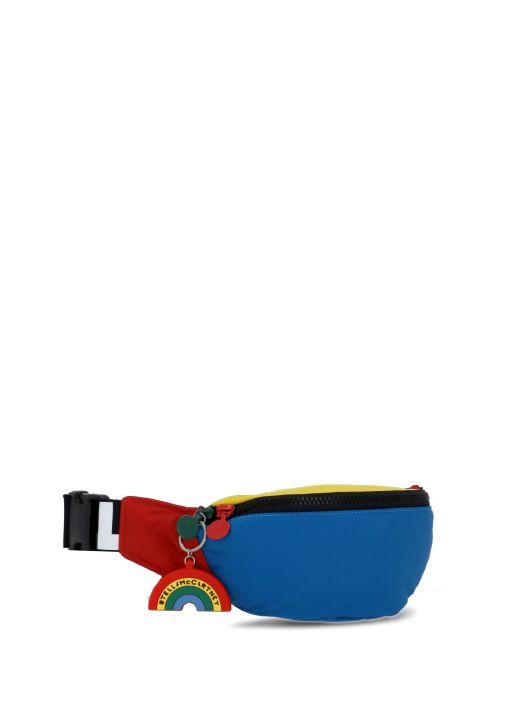 Loged belt bag