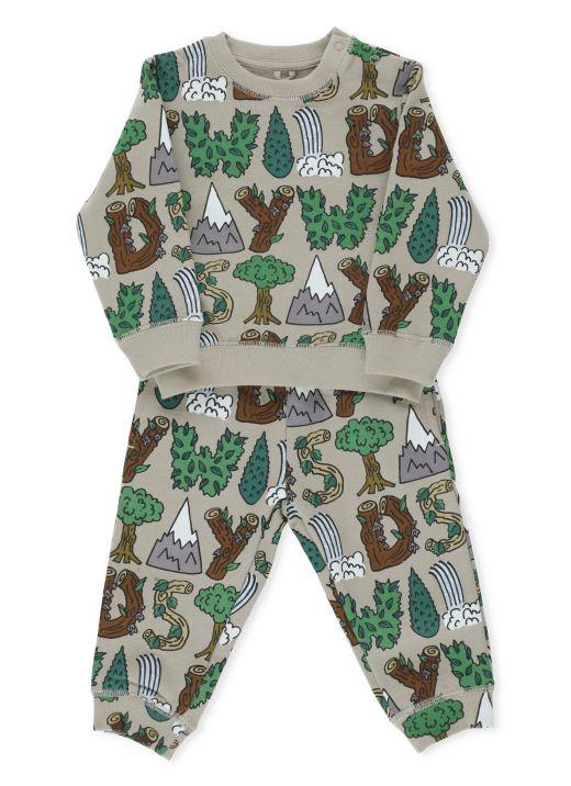 Completo felpa e pantalone Wild