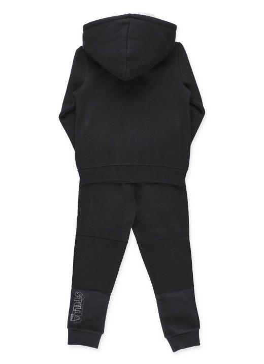 Completo felpa e pantalone con logo