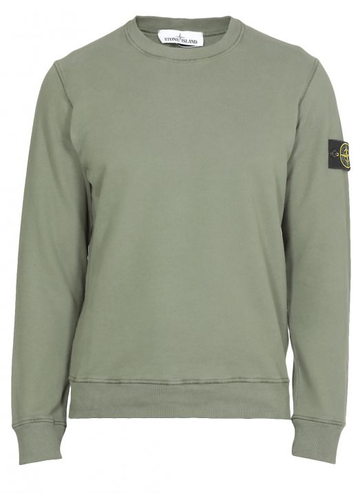 Sweatshirt with loged patch