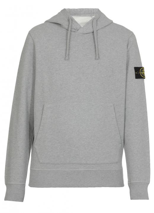 Hoodie with felt patch