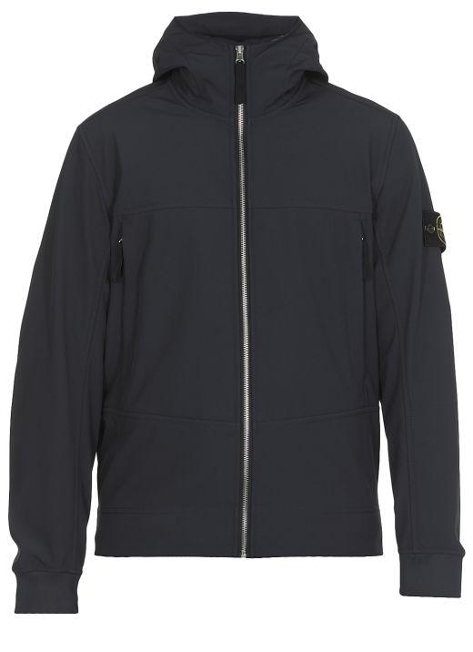 Stretch fabric rainproof jacket