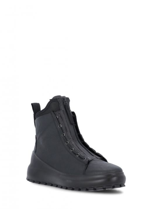 Dual lacing system boot