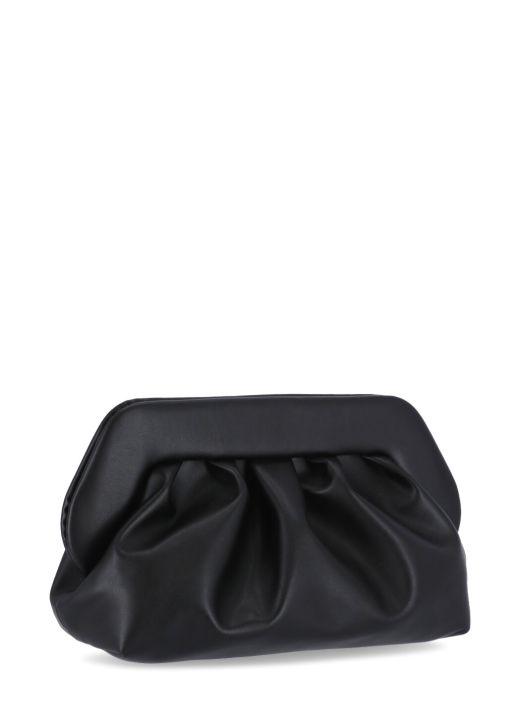 Bios Cactus leather clutch bag