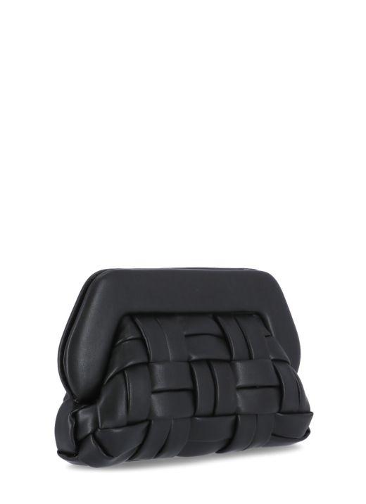 Bios Woven clutch bag