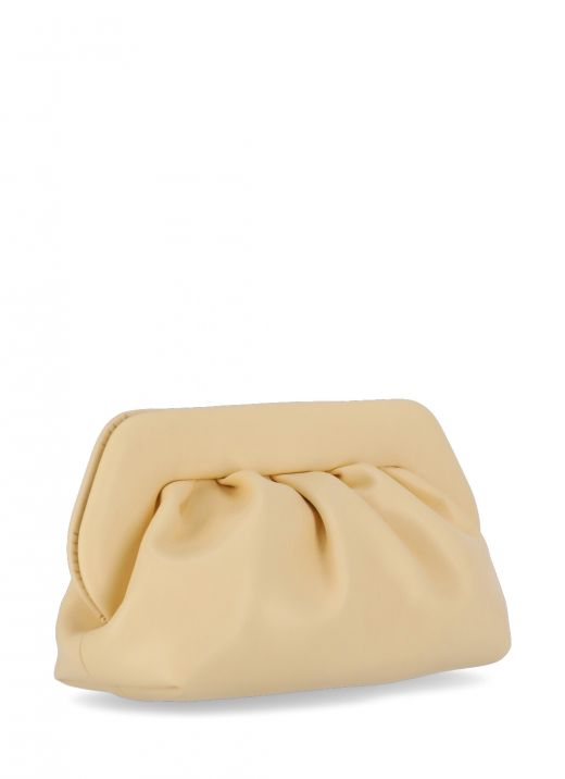 Bios eco-leather clutch bag