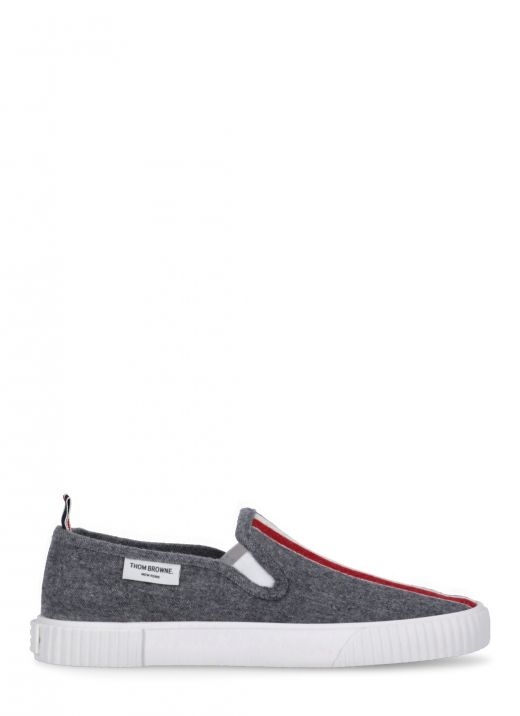 Wool and cashmere slip on