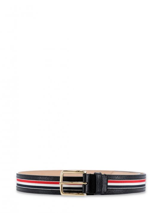 Belt with tricolor detail