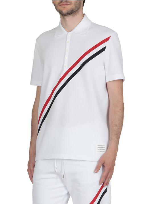 RWB Stripes Polo Shirt