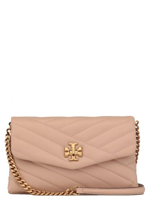 Quilted leather Kira shoulder bag