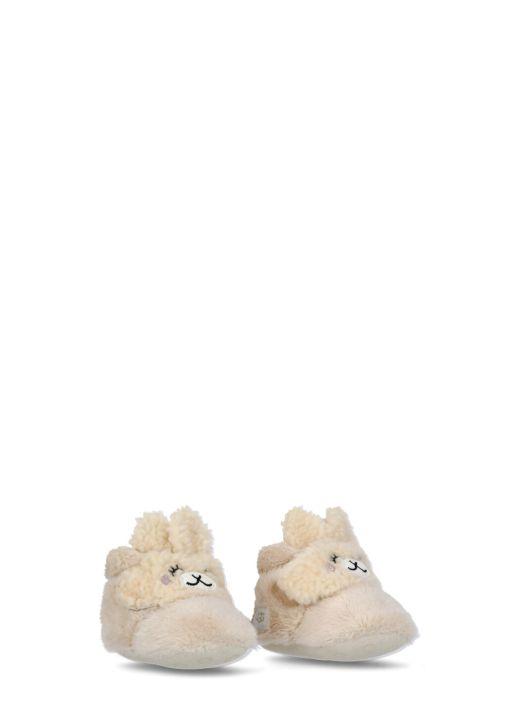 Llama Stuffie slipper