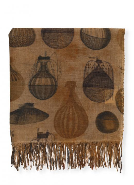 Printed foulard