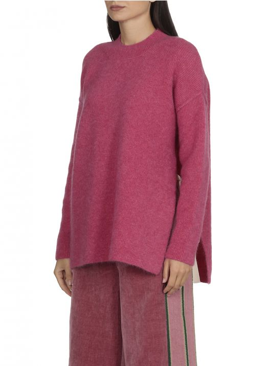 Virgin wool and mohair sweater