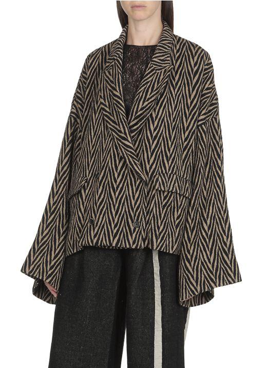 Keene double-breasted jacket
