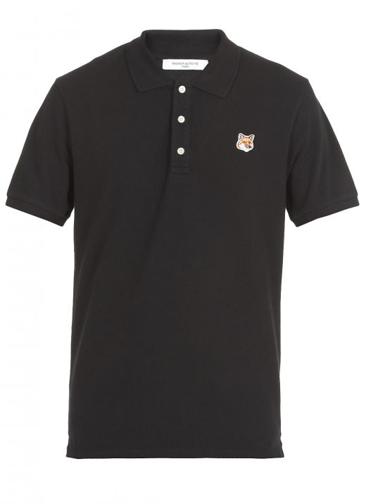 Polo shirt with Fox patch