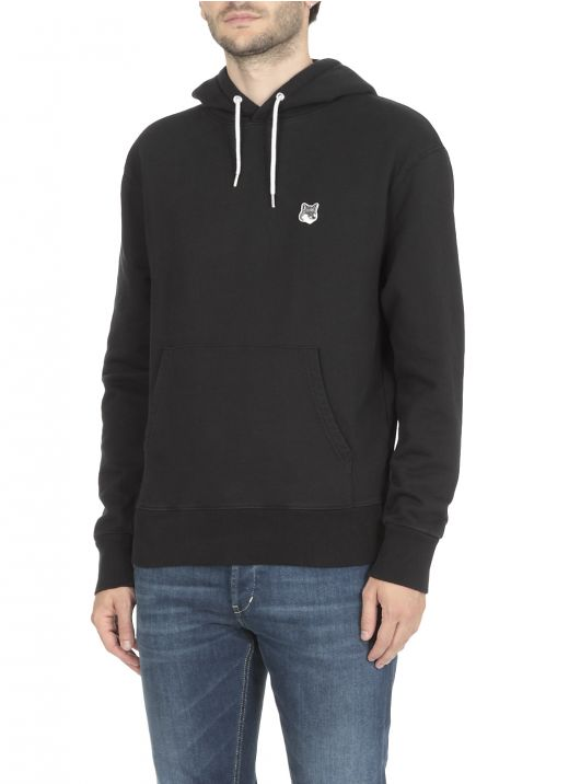 Hoodie with Fox patch