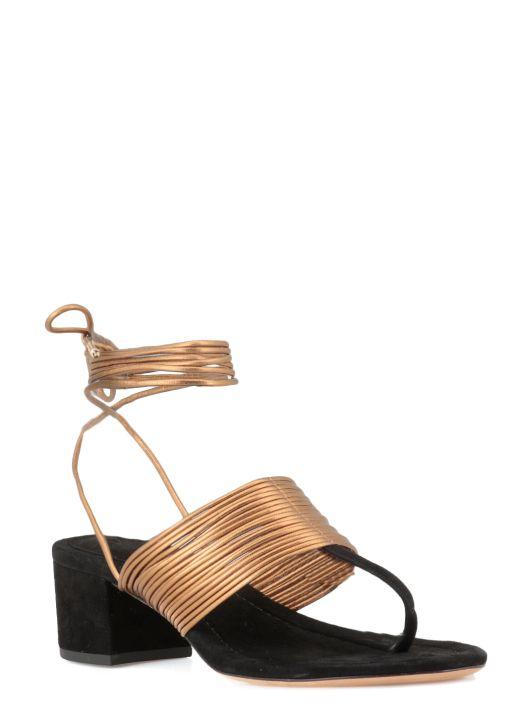 Isadora Block Sandal