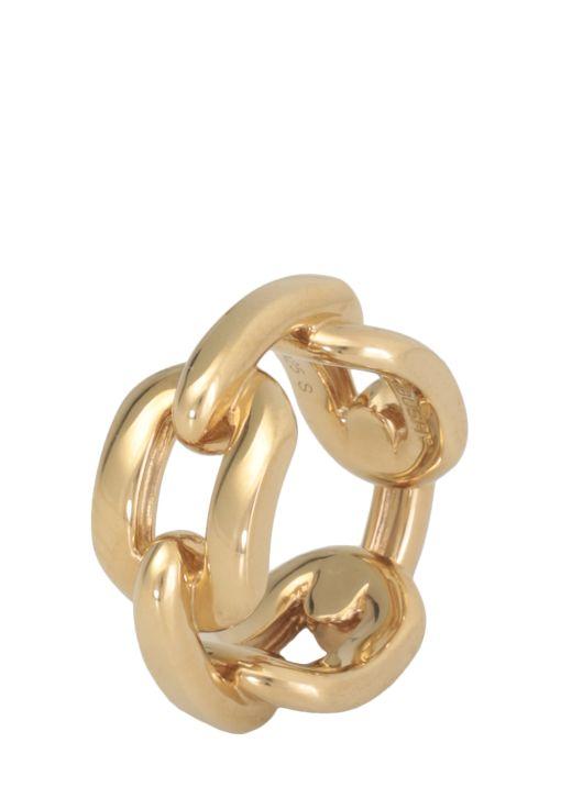 Wide steel ring