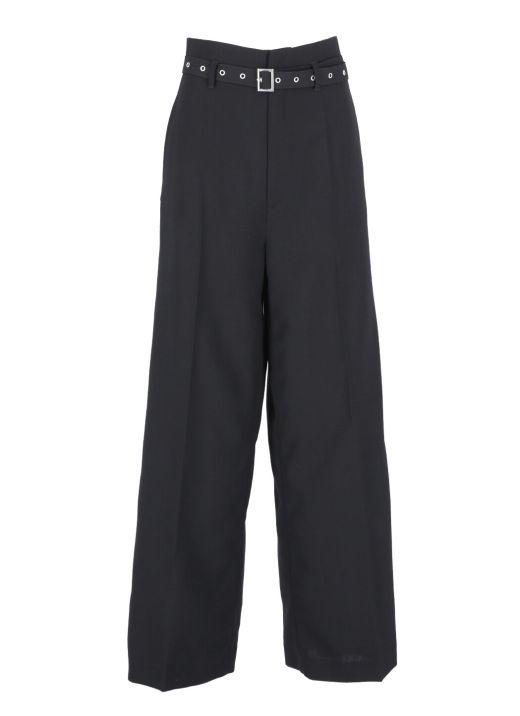 Virgin wool trouser