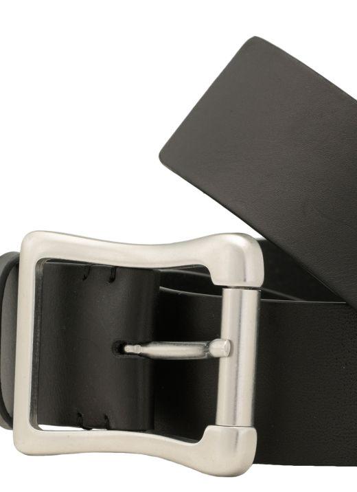 Leather classic belt