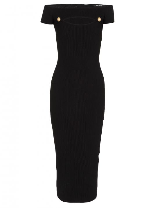 Knitted stretch dress