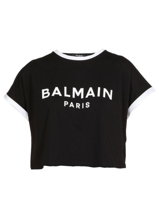 Logo cropped t-shirt