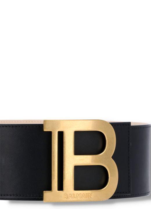 Leather B-belt