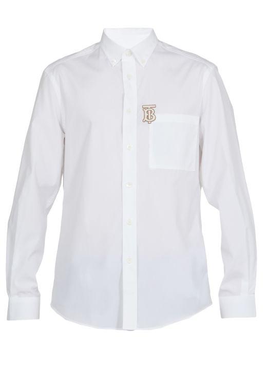 Camicia con monogramma