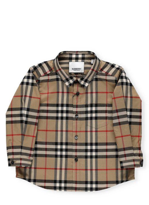 Vintage check cotton shirt