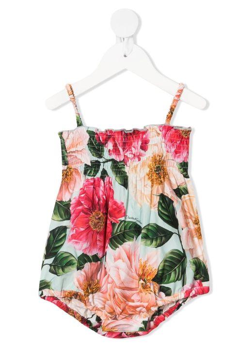 Body con stampa floreale