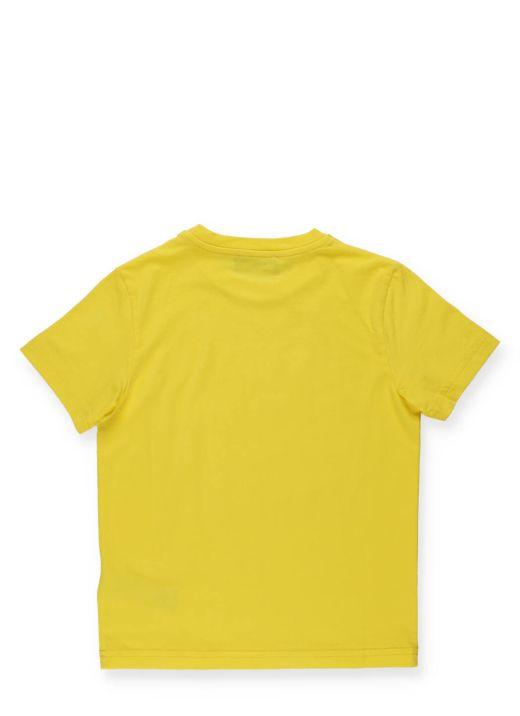T-shirt con stampa logata