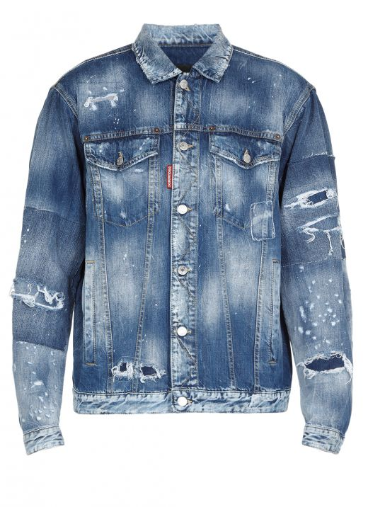 Giacca Jeans Over