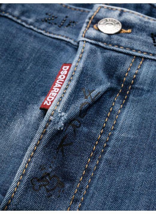 Trash Light Wash Skater Jeans
